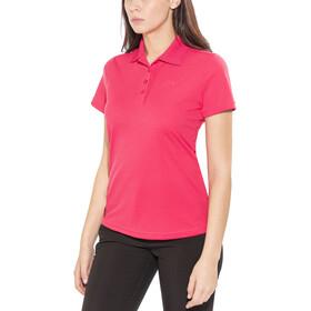 Maier Sports Ulrike Poloshirt Dames, raspberry